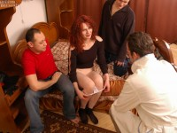Lusting redhead feels prick for the first time
