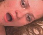 : Slim schoolgirl nearly chokes with throat-fucking : sex scene #18