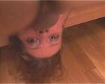 : Slim schoolgirl nearly chokes with throat-fucking : sex scene #5