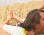 : Charming brunette's mouth stretched and gagged : sex scene #9