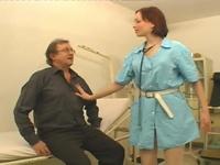 Alicia : Cute nurse has come to seduce this experienced banger : sex scene #1