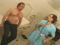 Alicia : Cute nurse has come to seduce this experienced banger : sex scene #2