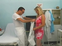 Catalina : Horny doctor is playing with a clit : sex scene #2