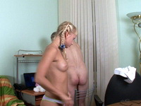Alina : Young blonde rides old teacher's hard cock : sex scene #11