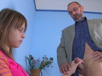Oksana : Stunning coed gets into wild fucking with teacher : sex scene #4