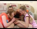 Kate : Three sexy teen babes capture naпve guy : sex scene #8
