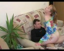 Lucy : Blonde girl is being put on her all fours : sex scene #5